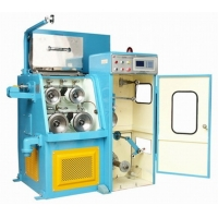 Aluminum Wire Drawing Machine Inlet 1.2 To 2.05mm Outlet 0.4 To 1.2mm CCA Wire Drawing Machine Manufactures