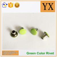 Youxin hardware Flat round rivets used in apprael Trade gloden supplier Manufactures