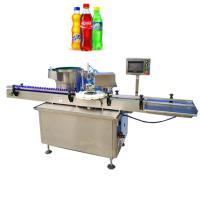 Electric Driven Type Bottle Capping Machine Capping For Plastic And Glass Bottles Manufactures