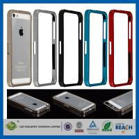 Aluminum Metal Slide-On Frame Bumper Apple Cell Phone Cases Cover For Iphone 5 Manufactures