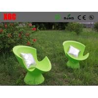Green Color LED Light Sofa Leisure Style For Reading Room / Coffee Shops Manufactures