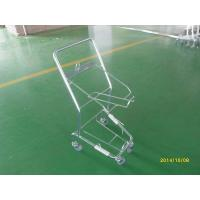 Four Wheeled Shopping Trolley / Shopping Basket Trolley 50KGS capacity Manufactures