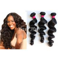 China Natural Wave Real Brazilian Human Hair , Grade 8A Virgin Hair Without Chemical on sale