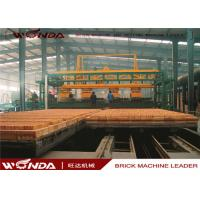 China Gas Fired Clay Tunnel Brick Kiln Automatically Run For Brick Making Machinery Plant on sale