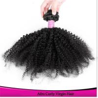 3.5 oz Brazilian Remy Kinky Curly hair Best Quality Bundle Brazilian Remy Bundles Manufactures