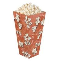 Biodegradable Innovative Fast Food Packaging , Small Pink Cardboard Popcorn Boxes Manufactures