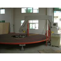 Circle Horizontal Sponge Cutting Machine With Rotating Table For PU Square Foam Manufactures