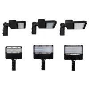 AC 100 - 277V LED Parking Lot Lights , High Efficiency LED Shoe Box Lights Manufactures