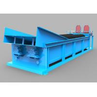 Blue Light Double Spiral Sand Washing Equipment 20-150 Tons Per Hour Water Consumption Manufactures