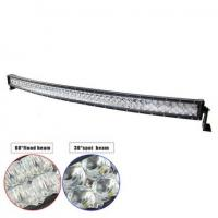 "54"" 300W Double-row Curved 6000K Spot/ Flood/ Combo Car Lightbar for Off-road Truck ATV Vehicle Manufactures"