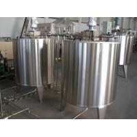 Water Filling Production Line Automatic Beverage Mixing Tank for Beverage Plant 1 - 10T Manufactures