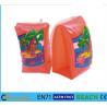 Swimming Arm Ring Circle Orange Baby Swimming Ring Scratch Free PVC Water Tube Manufactures