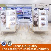 Cosmetic product display stands,cosmetics display design showcase Manufactures