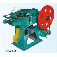 High Speed Low Noise Z94-4C Automatic Nail Machine With Free Mould Easy Operation Manufactures