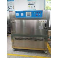304 Stainless Steel UV Aging Test Chamber , Accelerated Weathering Tester Manufactures