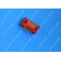 Lightweight Red External SATA 7 Pin Connector Voltage 500V SMT Type Manufactures