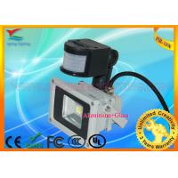 High power 10w motion sensor lights for Tunnel, 10W PIR LED Flood Light Manufactures