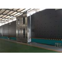 Low E Insulating Glass Production Line Frequency Control With 6 Soft Hair Brushes Manufactures