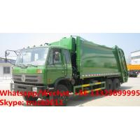 high quality and competitive price dongfeng 6*4 LHD 20CBM refuse garbage truck for sale, compacted garbage truck Manufactures