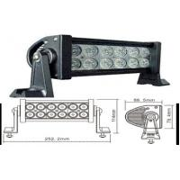 6000K 7.5 Inch 36W Automotive led work light bar 12 volt Flood beam Manufactures