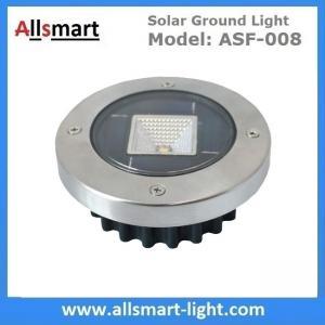 Solar Ground Lights Warm Solar Inground Spotlights White Solar Underground Pathway Lights Outdoor Solar Landscape Light Manufactures
