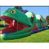 Quality Frog Rent Large Inflatable Obstacle Course for sale