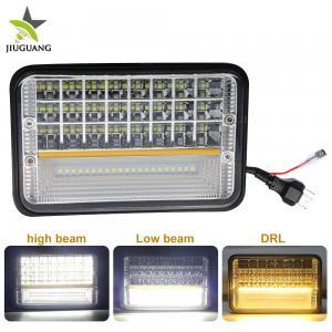 9D Reflector 4x6 Led Headlight Hi LO Beam Abmer Angel Eye Easy Installation Manufactures