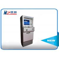 42 Inch advertising software free standing kiosk hotel lobby kiosk 500cd/m2 Manufactures