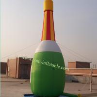 Inflatable bottle model carton character , inflatable bootle shape, advertising bottle Manufactures