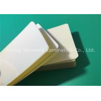 Quality Hot Sticky Back Laminating Film , 75 Micron Lamination Pouches Business Card Size for sale