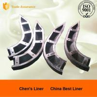 Pearlitic Cr-Mo Alloy Steel Mill Liners High Stability Noise Reduction Manufactures