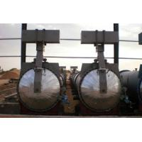 Saturated Steam Chemical Concrete Autoclave Φ3m For Wood / Brick / Rubber / Food Manufactures