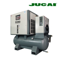 16 Bar 15kw 20Hp All In One Combined Screw Air Compressor With Dryer Manufactures