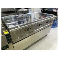 380V 8.4KW Hot Buffet Equipment Electric Teppanyaki Griddle Stainless Steel Hot Plate Manufactures
