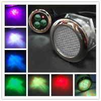 SD-7711 stainless steel  chromatherapy LED underwater light Manufactures