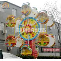 Clock Style Kids Ferris Wheel Ride 5kw Customized Color 4 M * 6 M Area Manufactures