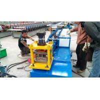 Blue Metal Roll Shutter Door Forming Machine With 4kw Hydraulic Cutting Manufactures