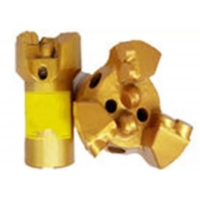 Non - Coring PDC Core Bits Concave Drilling Bit ISO Approved Long Working Life Manufactures