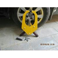 Robotic Strong Car Tyre Wheel Lock Clamp Yellow Color for cars locking Manufactures