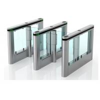 Toughened Glass Wing Slim High Speed Gate Systems Servo Driver Manufactures