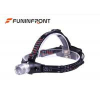 3 Gears Hunt Lights 5W CREE Outdoor Led Headlamp Using 18650 or 3 x AAA Battery Manufactures