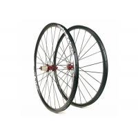 28H / 32H 26 Inch XC Carbon Wheels Clincher Light Weight With Stabile Structure Manufactures