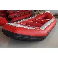 Quality Red Sport Whitewater Inflatable Drift Boat 5 Person Inflatable Boats for sale