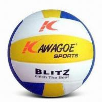 Rubber Volleyball with Easily Seized and Stable Rebound Features, Ball Surface is Fresh and Shining Manufactures