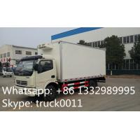 Dongfeng LHD 4*2 chaochai 95hp diesel 3tons-5tons refrigerated truck for sale, hot sale dongfeng 5tons cold room truck Manufactures
