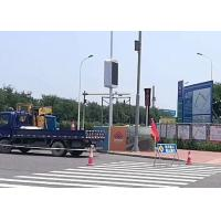 Street Pole  SMD2727  LED  Advertising Screen Display Sign With WiFi Outdoor Manufactures