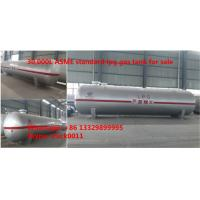 High quality and best price ASME standard lpg gas storage tank for sale, Factory sale ASME stamped 30,000L propane tank Manufactures