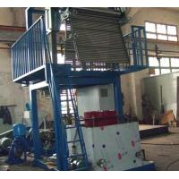 Latest Design Blown Film Equipment , Pvc Film Making Machine 22KW Motor Power Manufactures