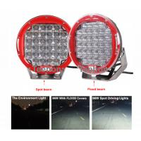 Waterproof IP68 9 inch 96w led work light kit for 4WD and heavy-duty truck Manufactures
