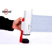 Versatile Ping Pong Paddle And Net Set, Easy Set Up Table Tennis Racket Set Manufactures